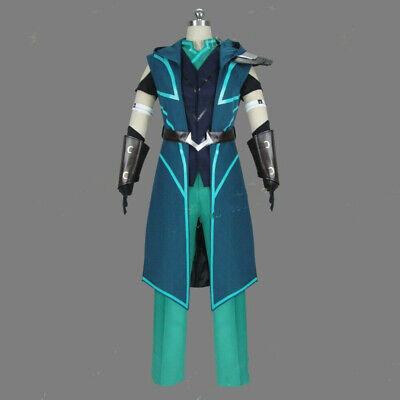 The Dragon Prince Runaan Elf Assassin Cosplay Costume Men COS Fancy Dress (Elf Cos)