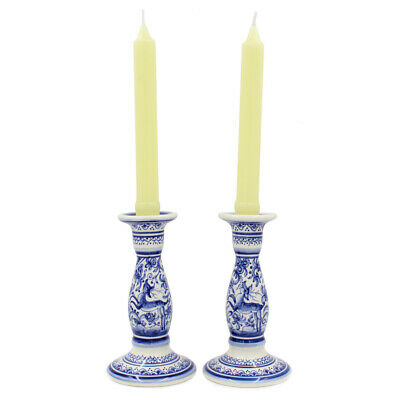 Coimbra Ceramics Hand-painted Decorative Candle Holder XVII Cent Recreation #198