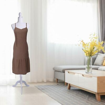 Female Mannequin Torso Dress Clothes Form Style Display With Tripod Stand Us