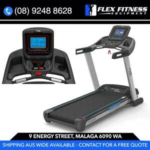 2.5CHP NEW Treadmill, by Strength Master. 50CM Deck, Shocks