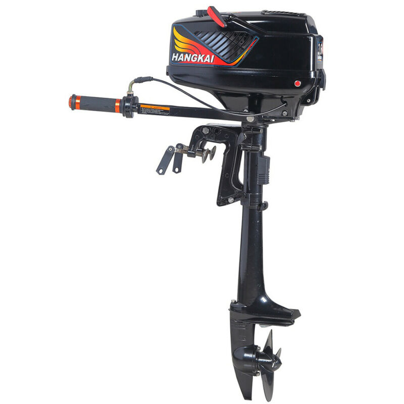 3.5/4/6/6.5/7-HP 2/4-Stroke Outboard Motor Boat Engine With Water /Air Cooling
