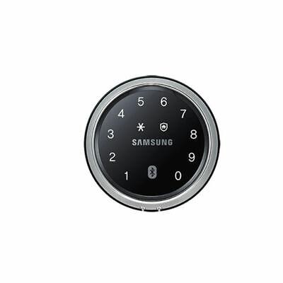 Samsung IoT Smart Electronic Digital Door Lock Compact Round Safe 3Way SHP-DS700