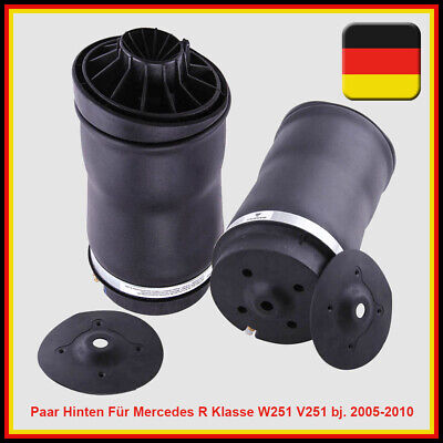 2x Hintere Airmatic Luftfederung Federn für Mercedes R350 R500 W251 A2513200025