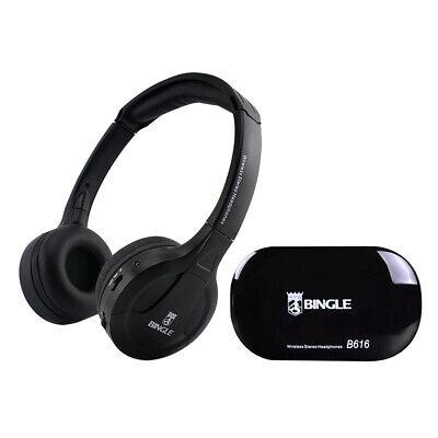 BINGLE B616 Cuffie Stereo Senza Fili Trasmettitore Auricolari FM Radio Per PC TV