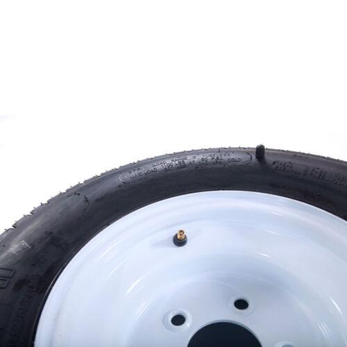 2pcs 20.5X8X10 205/65-10 psi:50 for 5Lug White with warranty Trailer Tire & Rim