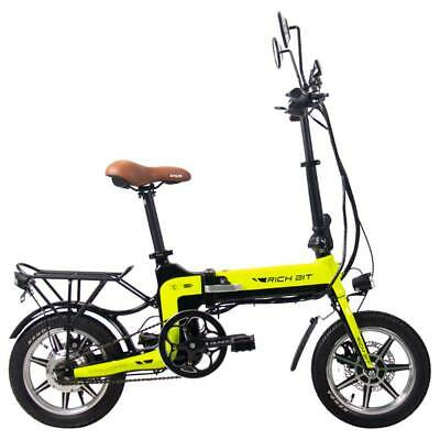 RICH BIT TOP-619 Bicicleta de ciclomotor eléctrica plegable Neumáticos de 14 ''