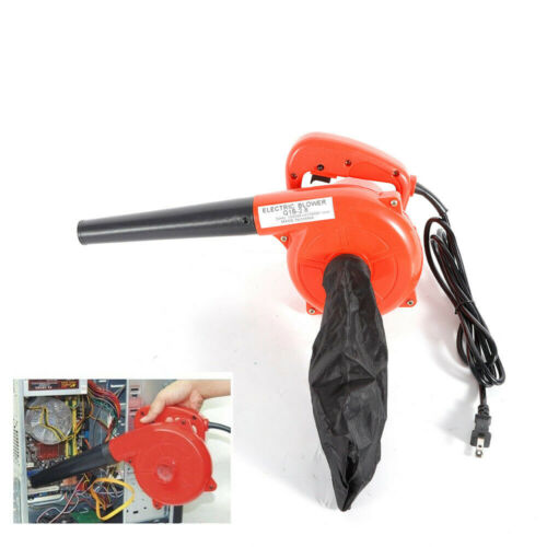 Electric Hand Operated Air Blower Clean Cleaner Dust Blower 1000W+Bag USA