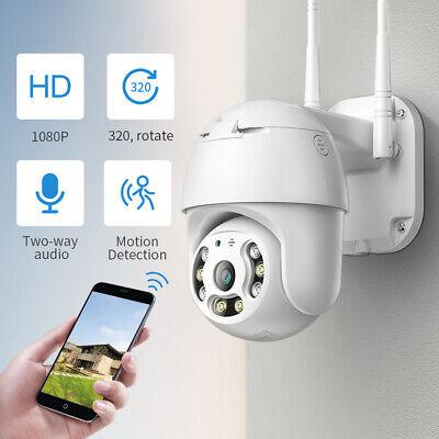 2MP Wireless Wifi IP Camera 1080P PTZ Outdoor Dome Security Camera Pan Tilt Cam