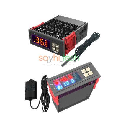110-230v Sht2000 Digital Thermostat Temperature Humidity Sensor Controller