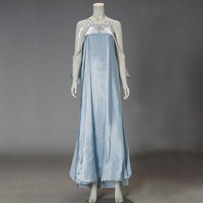 Star Wars 3 Revenge of Sith Padme's Amidala Nightgown Cosplay Costume Nightdres