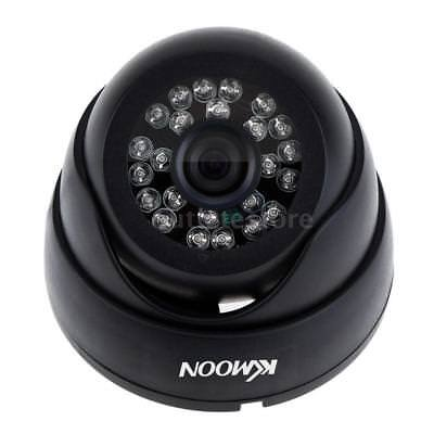 Home Security Color Night Vision CCTV Dome Camera 800TVL Wide Angle 24LEDs I2W7