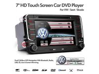 Navigation Bluetooth DVD Player USD SD Aux Car Stereo For Golf 5 6 Polo Passat EOS Caddy Amarok