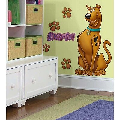 Scooby Doo BIG Mural Wall Stickers Room Decor Decals NEW Kid Dogs Decorations (Scooby Doo Decorations)