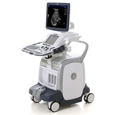 Ge Logiq E9 Ultrasound Machine System With Shared Service Pw Cw Ecg