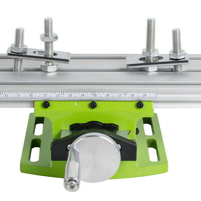 Compound Work Table Xy 2 Axis Cross Slide Milling Machine Bench Drill Vise 6330