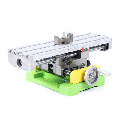 Mini Cross Slide Bench Drill Vise Fixture Work Table Cnc Milling Machine New
