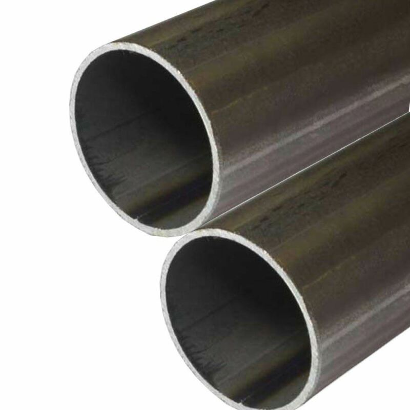 E.R.W. Steel Round Tube 1.000 (1 inch) OD, 0.065 inch Wall, 72 inches (2 Pack)