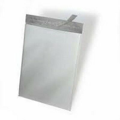100 19x24 M8 White Poly Mailers Shipping Envelopes Plastic Bags 100m8