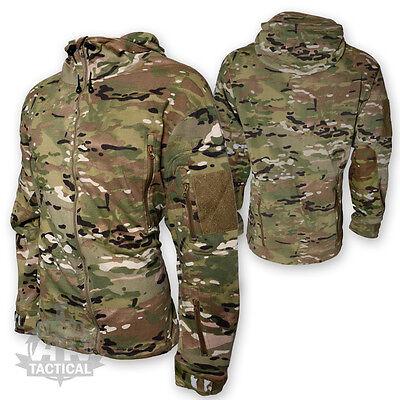 KOMBAT Recon Tattico Felpa con Cappuccio Militare dell/'Esercito Forze Speciali Sicurezza-XXXL