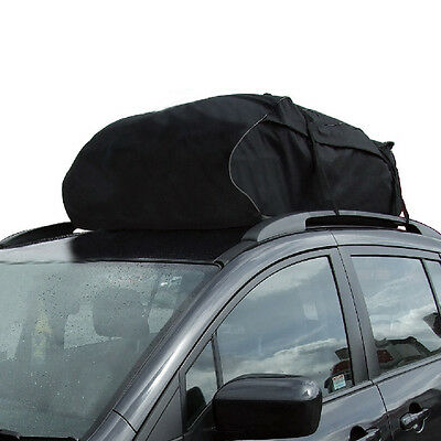 Car Roof Bag Cargo Top Box 458 Litre X-Large Water Resistance Van Storage Soft