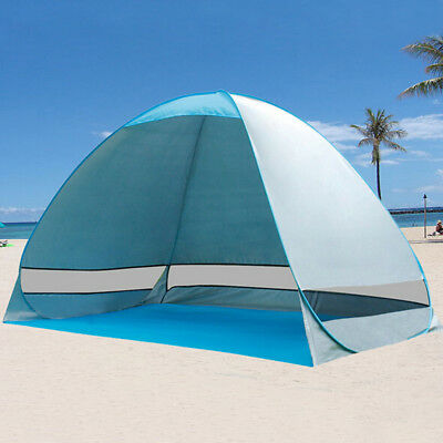 2-3 Person Pop Up Beach Canopy Automatic Instant Camping Tent Sun Shade Shelter 2 Person Camping Tent