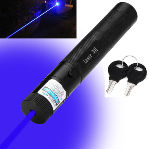 20Mile Tactical 18650 Green +Blue Laser Pointer Lazer Pen Beam Dual Charger USA