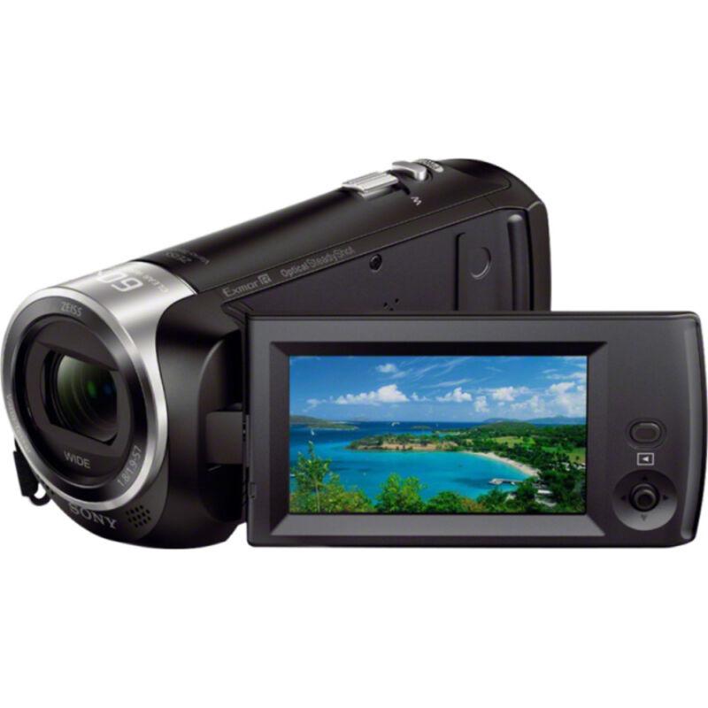 Sony Handycam CX405 Flash Memory Camcorder Black HDRCX405/B