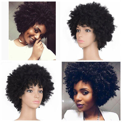 190g Hort Afro Curly Mix Hair Wig with Bangs Synthetic New Arrival Cheap Wigs - Cheap Afro Wigs