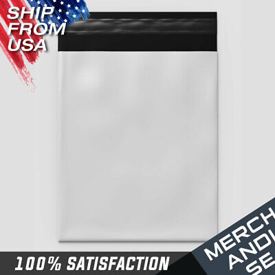 10x13 12x15 White Poly Mailer 100200pcs Plastic Bag Shipping Package Envelopes