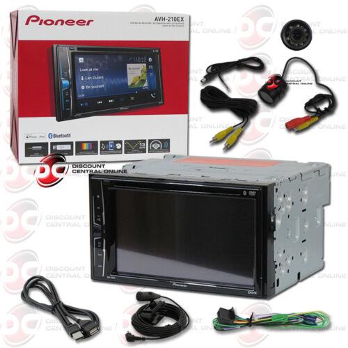 "PIONEER AVH-210EX 6.2"" TOUCHSCREEN USB DVD CAR BLUETOOTH STEREO FREE REAR CAMERA"