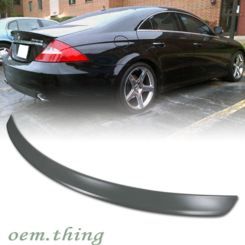 MERCEDES BENZ W218 4DR A Type Rear Boot Trunk Spoiler Wing ABS CLS550 CLS63