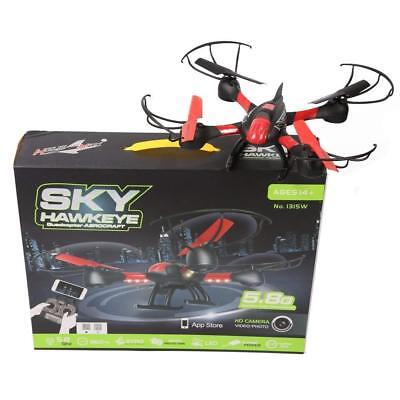 s IdeaWiFi HD Camera FPV Quadcopter Height Balance Drone - Red