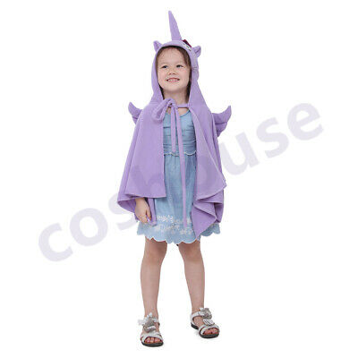 Unicorn Kids Costume Cloak Halloween Cosplay - Halloween Costume Costumes