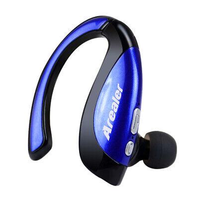 Kabellos Bluetooth Headset Kopfhörer In-Ear Mikrofon für Handys PC Ohrbügel R9W9