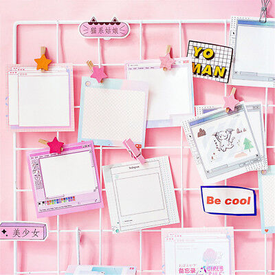 30 Sheets Computer Style Memo Pad Novelty Paper Sticky Notes Cute Stickers New