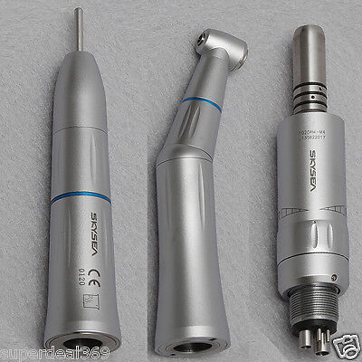 Dental Slow Low Speed Push Button Handpieces Kit Inner Water Spray Fit Kavo Type