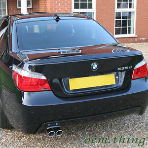bmw m5 type 5 series e60 sedan rear boot trunk spoiler 04. Black Bedroom Furniture Sets. Home Design Ideas