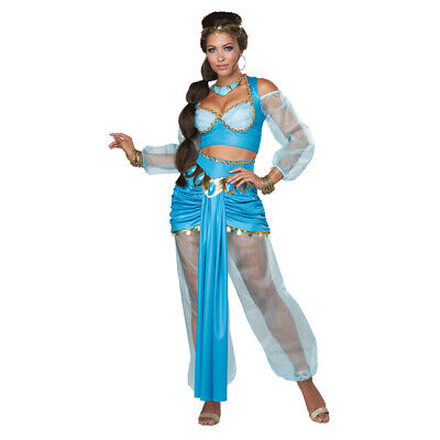 Arab Woman Costume (Womens Arabian Princess Jasmine)