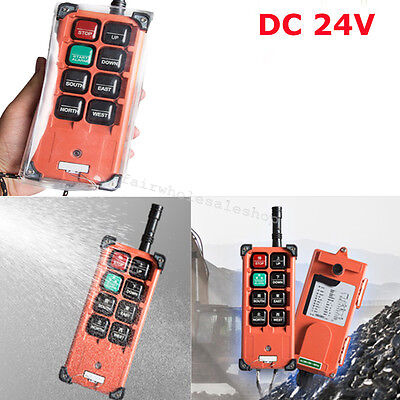 Transmitter Receiver Hoist Crane Remote Control Wireless Radio For Industry-usa