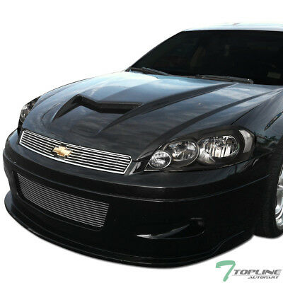 Topline For 2006-2016 Chevy Impala/Limited Black Housing Headlights Signal nb