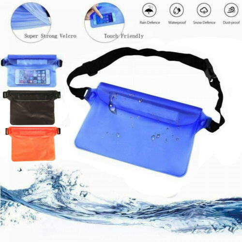 Hot Sport Swimming Beach Waterproof Waist Bag Pouch Dry Case