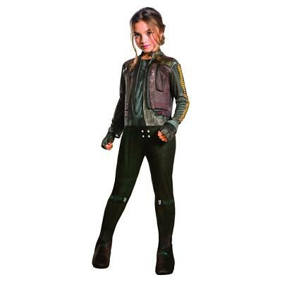 NEW GIRLS STAR WARS ROGUE ONE JYN ERSO CHILD COSTUME SIZE M 8-10 5-7 YEARS OLD (One Year Old Costumes)