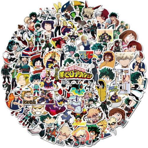 100pc My Hero Academia Stickers Anime Set Sticker Katsuki Eijiro Shoto Ochaco