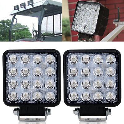 2X RE306510  LED Spot light for John Deere 4040 4050 4055 4450 4640 +Tractor