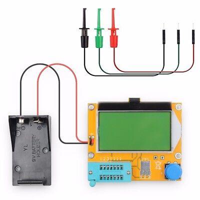 Lcr-t4 Digital Transistor Tester Resistor Capacitor Tester With Test Hook