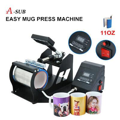 Digital Mug Heat Press Machine Dye Sublimation Ink Transfer Paper Diy Cup 11oz