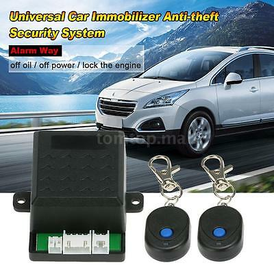 Car Immobilizer Anti Theft Security System Alarm Protection Remote New Universal ()