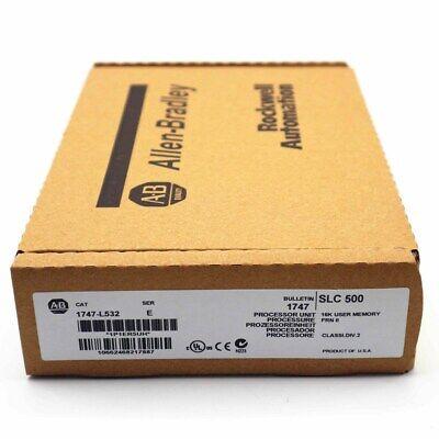 New Factory Sealed Allen Bradley 1747-l532 Slc 500 Processor Unit Module Plc