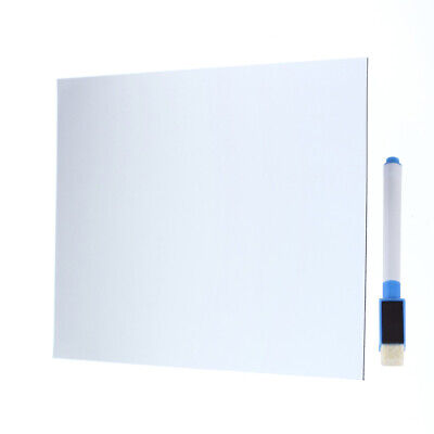 Whiteboard Writing Board Magnetic Fridge Removable Home Decoration Messagememo