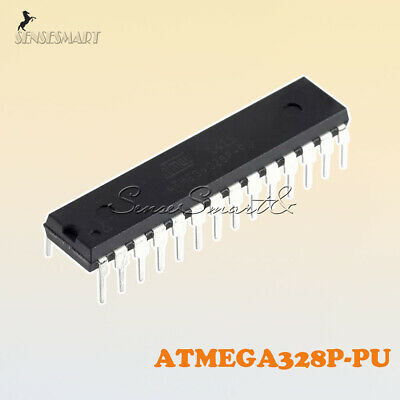10pcs Ic Atmega328p-pu Dip-28 Microcontroller With Arduino Uno R3 Bootloader